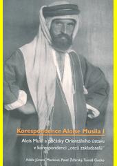 Alois Musil a počátky Orientálního ústavu v korespondenci  otců zakladatelů   (odkaz v elektronickém katalogu)