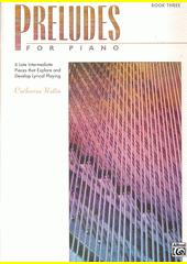 Preludes for piano. 3 (odkaz v elektronickém katalogu)