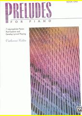 Preludes for piano. 1 (odkaz v elektronickém katalogu)