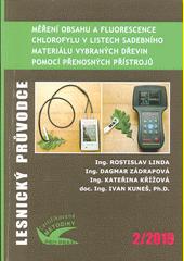 Měření obsahu a fluorescence chlorofylu v listech sadebního materiálu vybraných dřevin pomocí přenosných přístrojů : identifikace fyziologického stresu sadebního materiálu lesních dřevin : certifikovaná metodika  (odkaz v elektronickém katalogu)