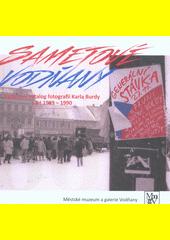 Sametové Vodňany  (odkaz v elektronickém katalogu)