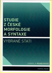 Studie z české morfologie a syntaxe : vybrané stati  (odkaz v elektronickém katalogu)
