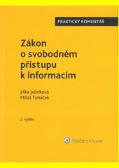 Zákon o svobodném přístupu k informacím  (odkaz v elektronickém katalogu)