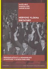 Nervová vlákna diktatury : regionální elity a komunikace uvnitř KSČ v letech 1945-1956  (odkaz v elektronickém katalogu)