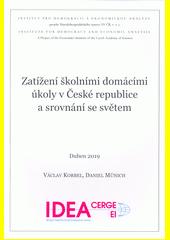 Zatížení školními domácími úkoly v České republice a srovnání se světem  (odkaz v elektronickém katalogu)