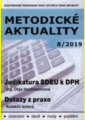 Judikatura SDEU k DPH  (odkaz v elektronickém katalogu)