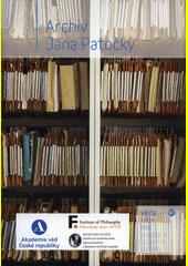 Archiv Jana Patočky  (odkaz v elektronickém katalogu)