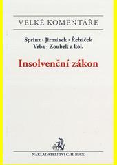 Insolvenční zákon : komentář  (odkaz v elektronickém katalogu)