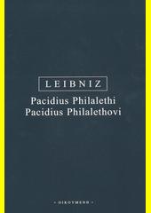 Pacidius Philalethi: Prima de motu philosophia = Pacidius Philalethovi: O první filosofii pohybu  (odkaz v elektronickém katalogu)