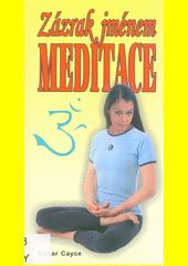 Zázrak jménem meditace : vědecké léčebné meditace  (odkaz v elektronickém katalogu)