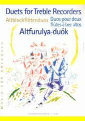 Duets for treble recorders (odkaz v elektronickém katalogu)