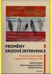Proměny krizové intervence : fenomén dlouhodobě opakovaně volajících v TKI  (odkaz v elektronickém katalogu)