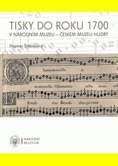 Tisky do roku 1700 v Národním muzeu - Českém muzeu hudby  (odkaz v elektronickém katalogu)