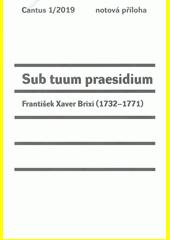 Sub tuum praesidium  (odkaz v elektronickém katalogu)