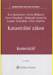 Katastrální zákon : komentář  (odkaz v elektronickém katalogu)