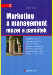 Marketing a management muzeí a památek  (odkaz v elektronickém katalogu)