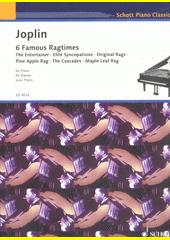 6 Famous ragtimes  (odkaz v elektronickém katalogu)