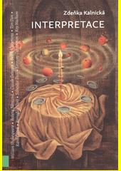 Interpretace  (odkaz v elektronickém katalogu)