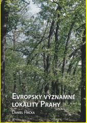 Evropsky významné lokality Prahy  (odkaz v elektronickém katalogu)
