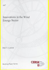 Innovations in the wind energy sector  (odkaz v elektronickém katalogu)