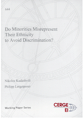 Do minorities misrepresent their ethnicity to avoid discrimination?  (odkaz v elektronickém katalogu)