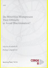 Do minorities misrepresent their ethnicity to avoid discrimination?  (odkaz v elektronickém katalogu)