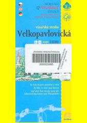 Velkopavlovická vinařská stezka [kartografický dokument] : na kole krajem památek a vína : mapa 1:65 000 (odkaz v elektronickém katalogu)