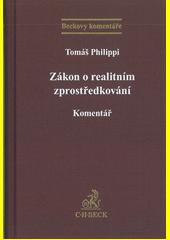 Zákon o realitním zprostředkování : komentář  (odkaz v elektronickém katalogu)
