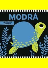 Modrá : kontrastní leporelo  (odkaz v elektronickém katalogu)