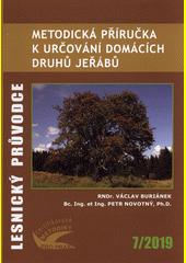 Metodická příručka k určování domácích druhů jeřábů : certifikovaná metodika  (odkaz v elektronickém katalogu)
