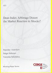 Does index arbitrage distort the market reaction to shocks?  (odkaz v elektronickém katalogu)