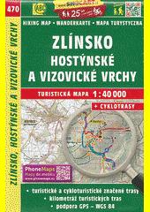 Zlínsko ; Hostýnské a Vizovické vrchy : turistická mapa 1:40 000 + cyklotrasy  (odkaz v elektronickém katalogu)