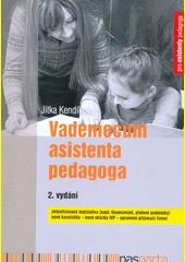 Vademecum asistenta pedagoga  (odkaz v elektronickém katalogu)