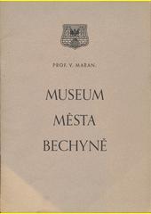Museum města Bechyně  (odkaz v elektronickém katalogu)