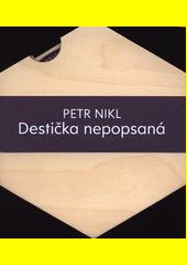 Destička nepopsaná  (odkaz v elektronickém katalogu)