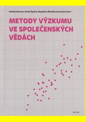 Metody výzkumu ve společenských vědách  (odkaz v elektronickém katalogu)