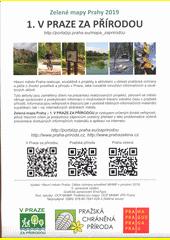 Zelené mapy Prahy 2019. 1, V Praze za přírodou (odkaz v elektronickém katalogu)
