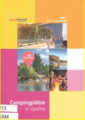 Campingplätze in der Region Vysočina (odkaz v elektronickém katalogu)