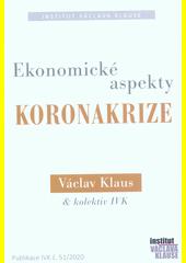Ekonomické aspekty koronakrize  (odkaz v elektronickém katalogu)