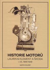 Historie motorů Laurin & Klement a Škoda. I. díl., 1899-1948  (odkaz v elektronickém katalogu)