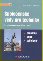 Společenské vědy pro techniky  (odkaz v elektronickém katalogu)