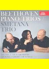 Beethoven piano trios (odkaz v elektronickém katalogu)