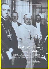 Československo a Svatý stolec. II (odkaz v elektronickém katalogu)