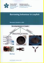 Burrowing behaviour in crayfish = Norovací chování u raků  (odkaz v elektronickém katalogu)