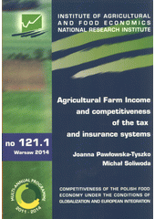 Agricultural farm income and competitiveness of the tax and insurance systems