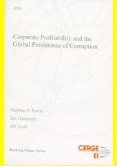 Corporate profitability and the global persistence of corruption  (odkaz v elektronickém katalogu)