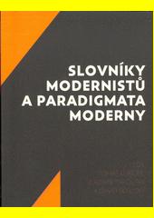 Slovníky modernistů (odkaz v elektronickém katalogu)