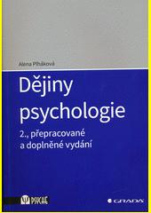 Dějiny psychologie  (odkaz v elektronickém katalogu)
