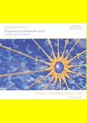 Responsoria pro hebdomada sancta  (odkaz v elektronickém katalogu)