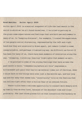 Suite : April 2020 Brad Mehldau (odkaz v elektronickém katalogu)